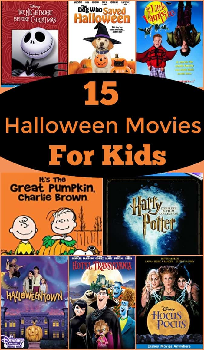 15 Halloween Movies for Kids - #halloween #halloweenmovies #movies
