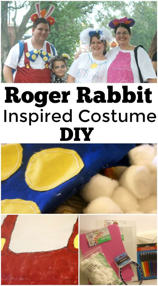 Roger Rabbit Inspired Costume DIY