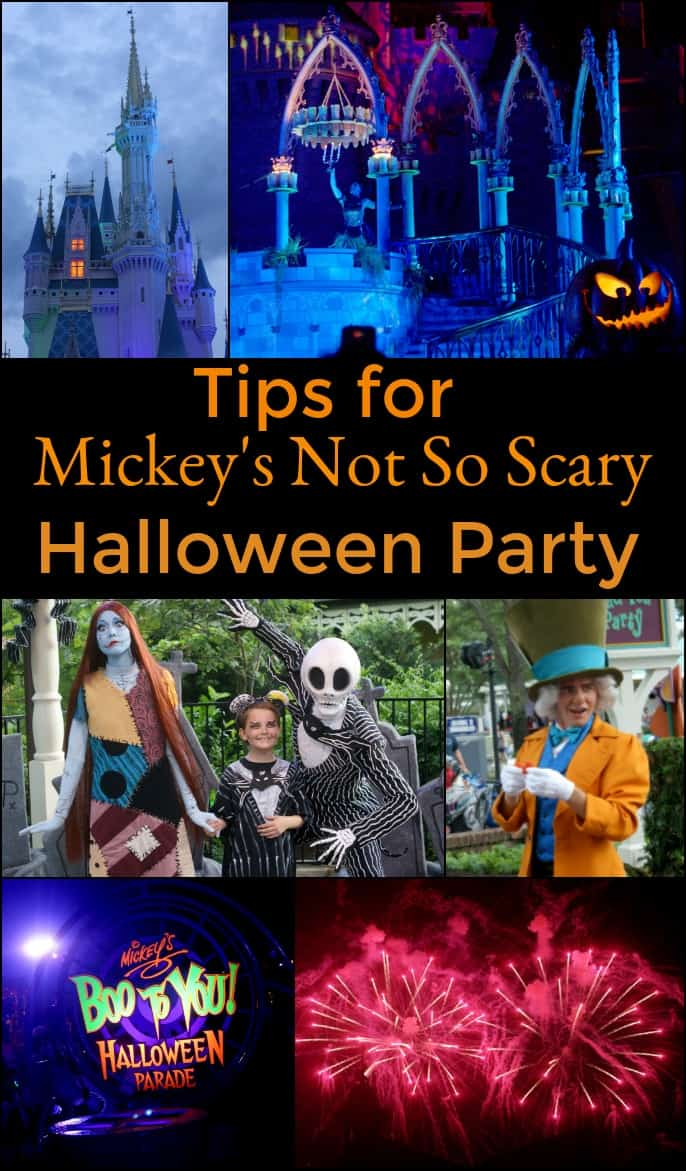 tips for mickeys not so scary halloween party disney disneyworld mickeysnotsoscary
