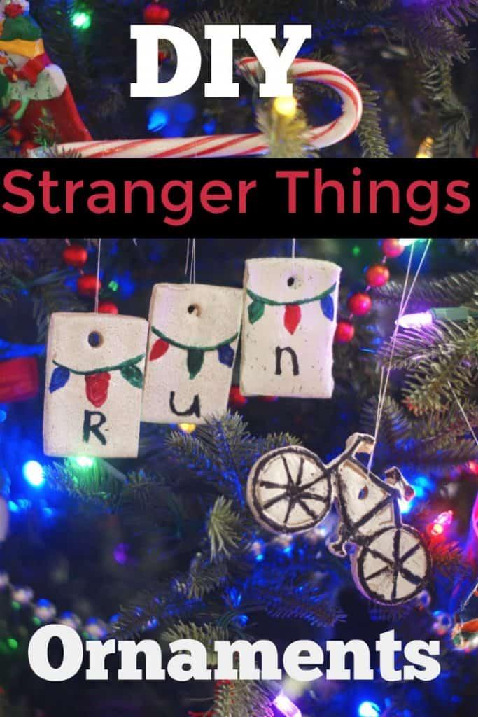 DIY Stranger Things Ornaments