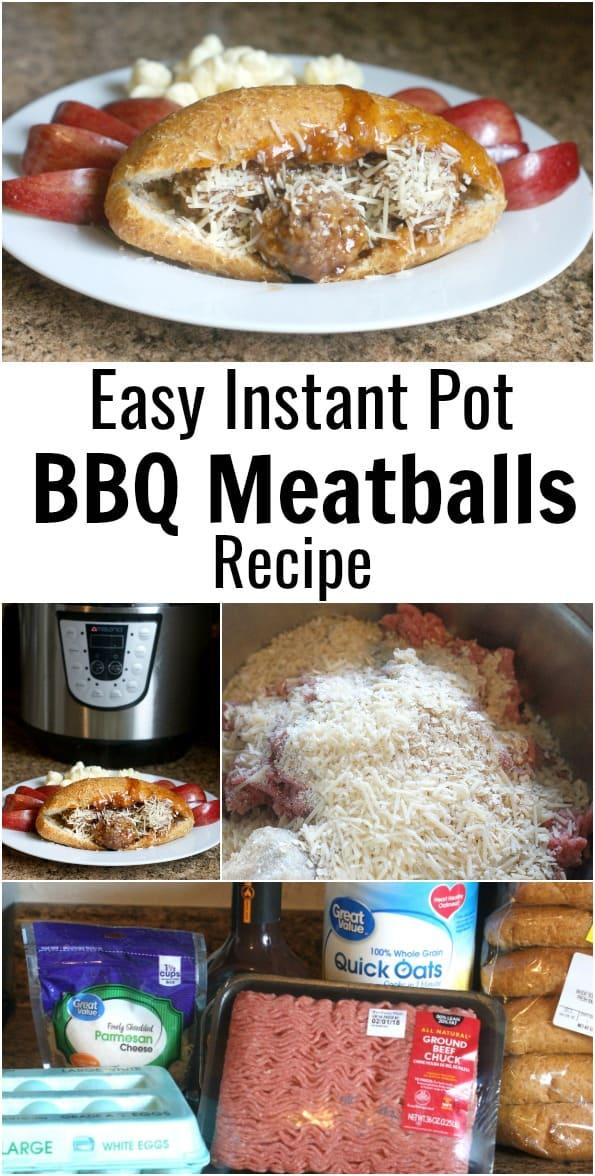 Easy Instant Pot BBQ Meatballs Recipe