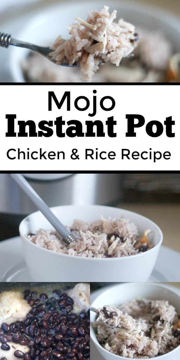 Mojo Instant Pot Chicken and Rice Recipe - #Recipe #Instantpot #mealplan #dinner #chickenRecipe #InstantPotRecipe