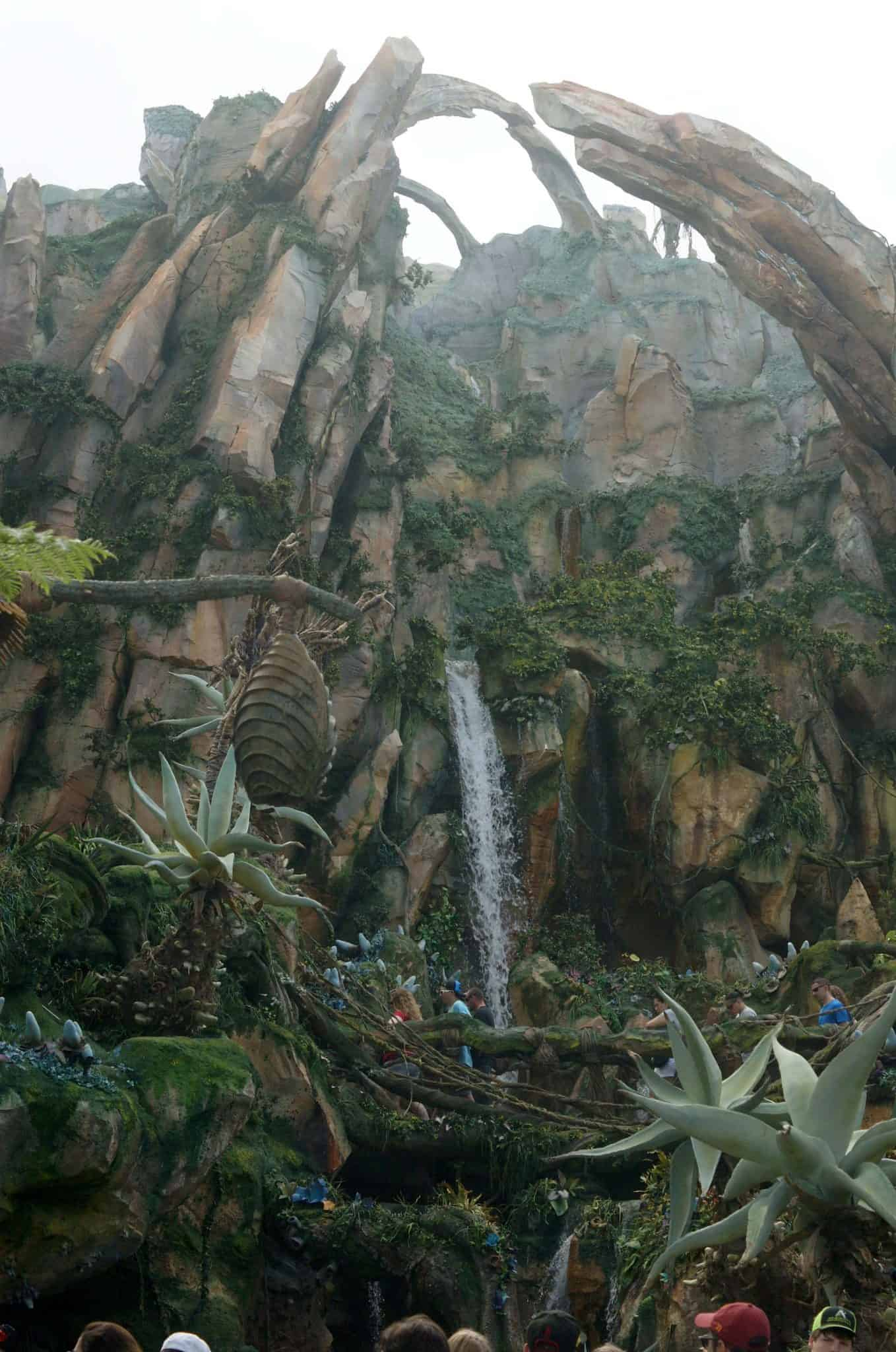 Disney's Pandora Floating Mountains
