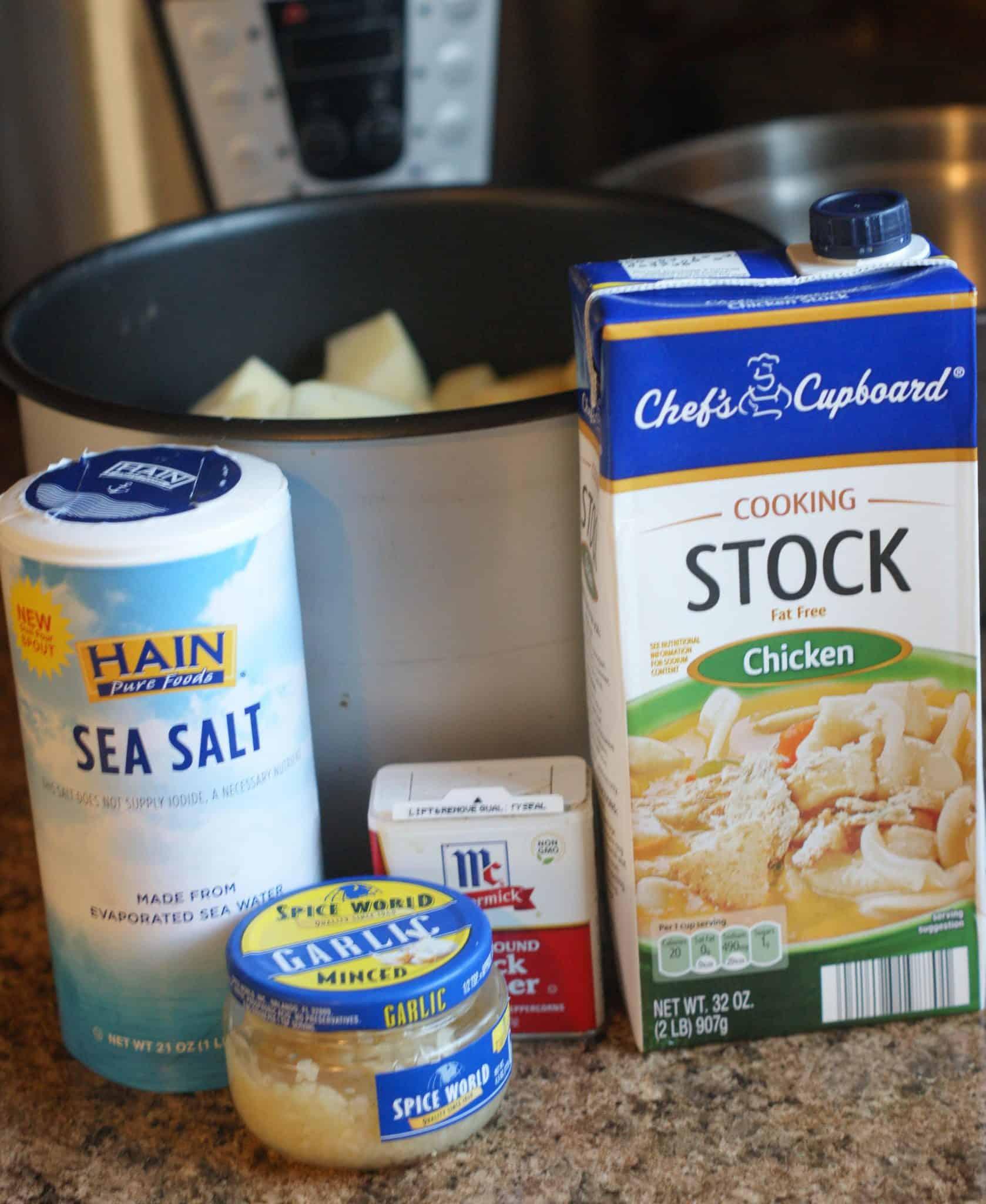 Instant Pot Potatoes Ingredients
