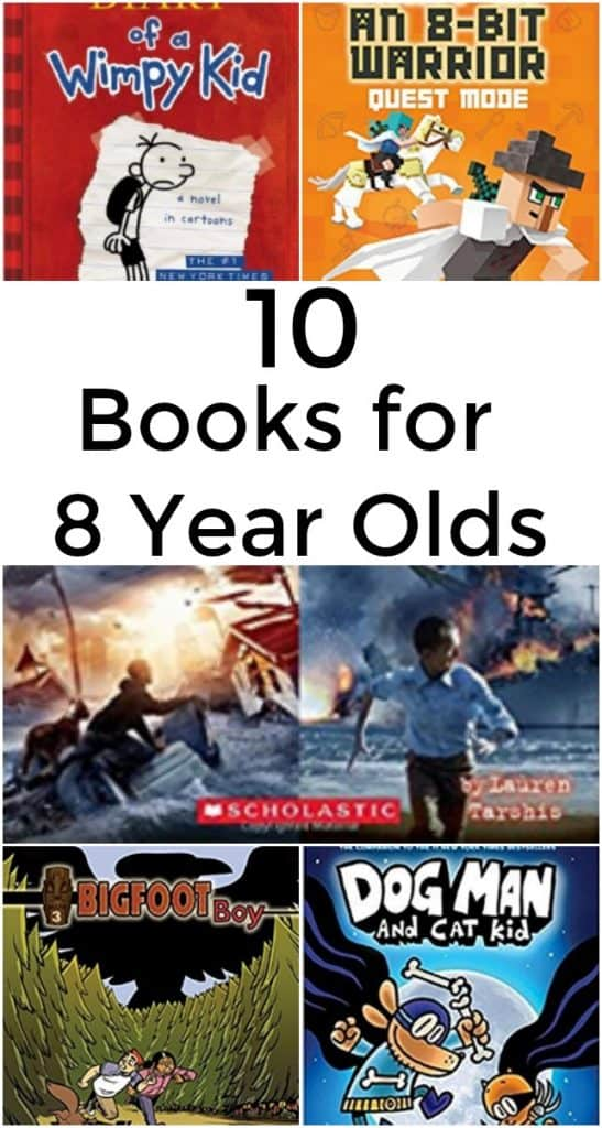 10 Books for 8 Year Olds - #Books #Reading #SummerReading