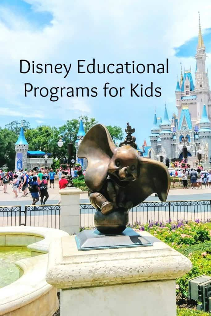 Disney Educational Programs for Kids - What are they and are they worth it? #Education #disney #edchat #homeschool
