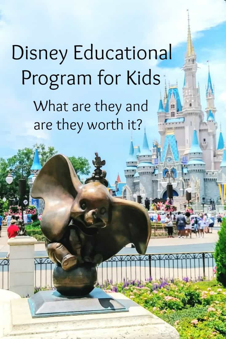 Disney Educational Programs for Kids - What are they and are they worth it? - #education #homeschool #Disney #edchat