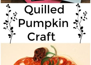 Quilled Pumpkin Craft