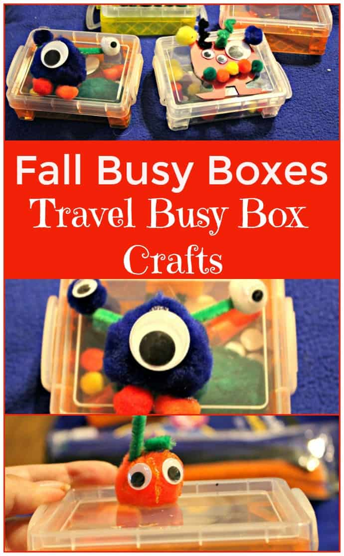 Fall Busy Boxes