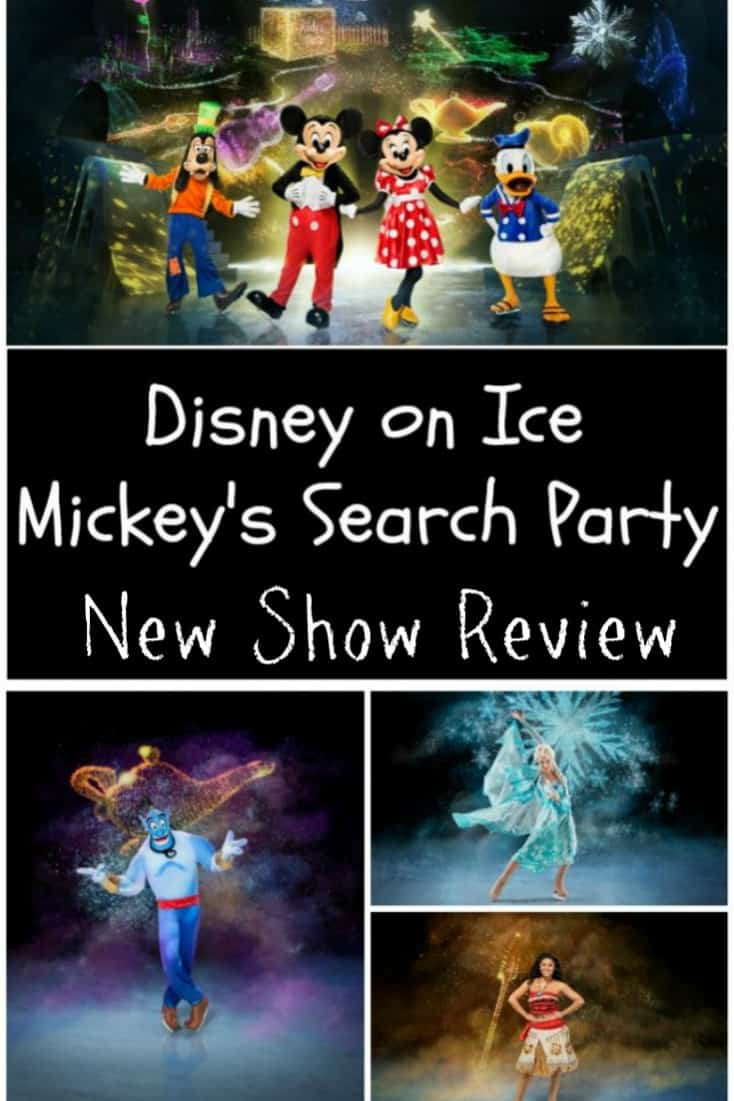 Disney on Ice Mickey's Search Party New Show Review