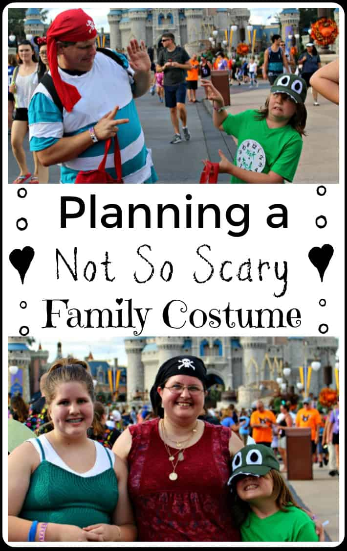 Planning a Not So Scary Family Costume - Don't miss these Disney costume tips to help you pick your not so scary costumes.