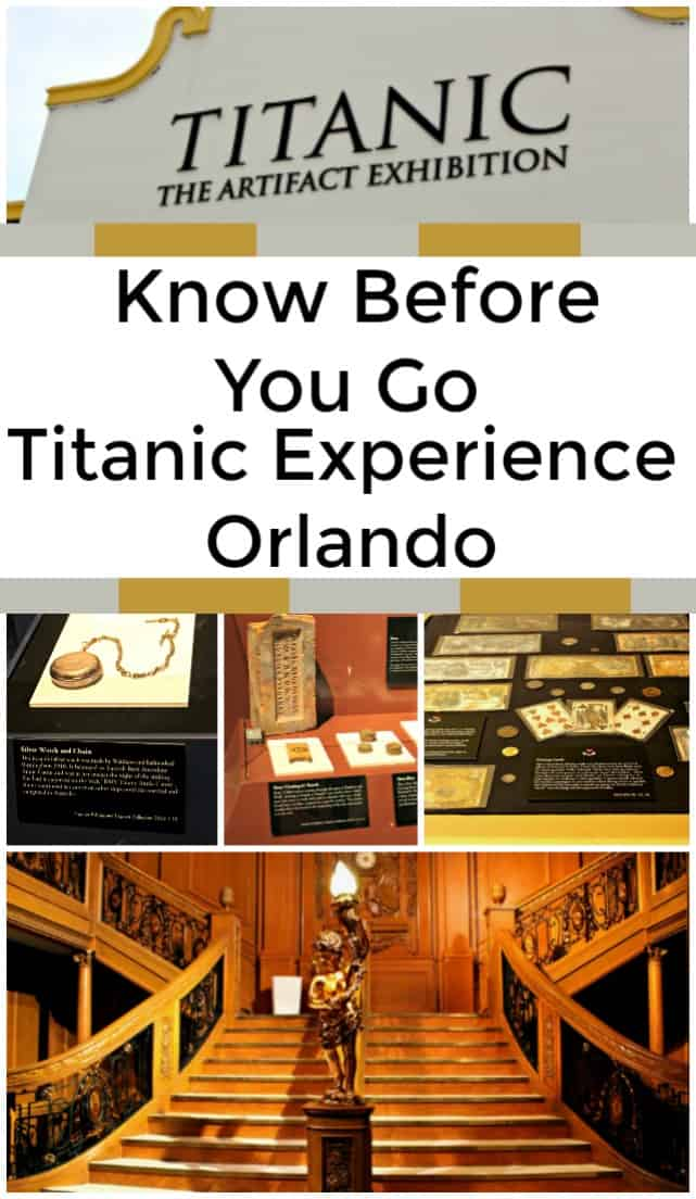 Know before you go to Titanic: The Artifact Exhibition in Orlando