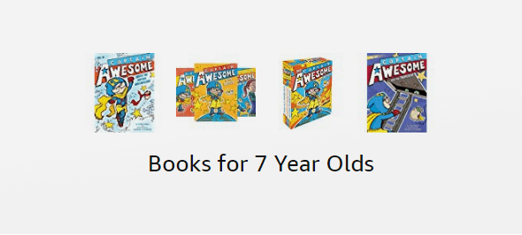 Books for 7 year olds on Amazon
