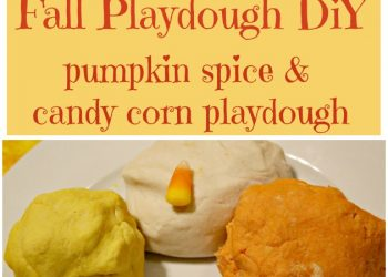 Fall Playdough DIY