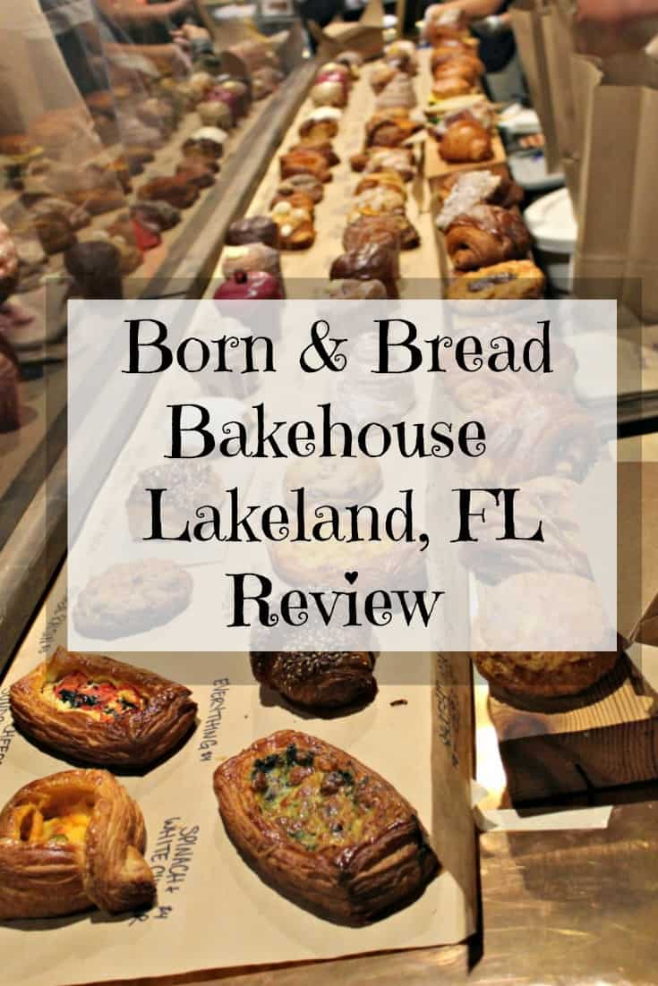 Born & Bread Bakehouse Lakeland Florida Review - Find out more about this local treasure of a restaurant that is Born & Bread. This place serves incredible cruffins, breakfast sandwiches, and croissants as well as many other great options. Halfway between Orlando and Tampa this is the perfect restaurant for your Florida vacation. #Florida #travel #restaurant