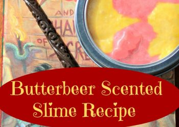 Butterbeer Slime Recipe