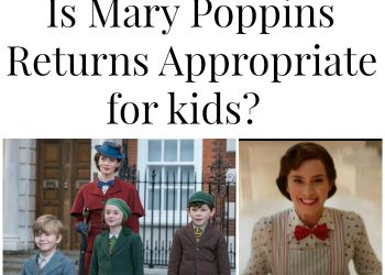 Is Mary Poppins Returns appropriate for kids?