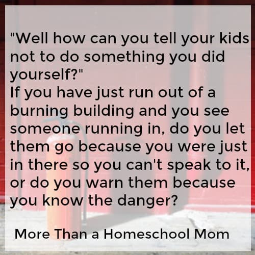 Looking for drug education for kids? Find out what I teach my kids and why I think you need a homeschool drug education plan if you don't have one. Talking to kids about drugs can be difficult but it is not impossible. Find out how to talk about drugs with your kids and what you should ask before talking to your kids about drugs.